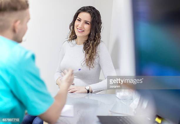 Consultation in doctor's office