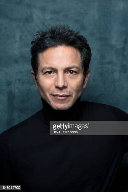 Consulting Producer Benjamin Bratt from the film 'Dolores' is photographed at the 2017 Sundance Film Festival for Los Angeles Times on January 20...