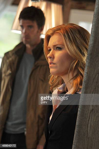 HAVEN 'Consumed' Pictured Lucas Bryant as Nathan Wournos Emily Rose as Audrey Parker Photo by Chris Reardon/Syfy