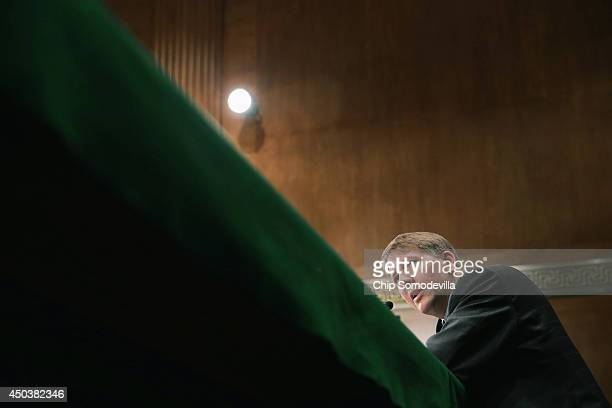 Consumer Financial Protection Bureau Director Richard Cordray testifies before the Senate Banking Housing and Urban Affairs Committee in the Dirksen...