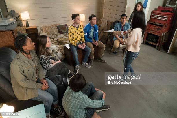 THE FOSTERS Contact Callie and Aaron go on their first official date Mariana and Jude spearhead an underground school newspaper Noah and Jude...