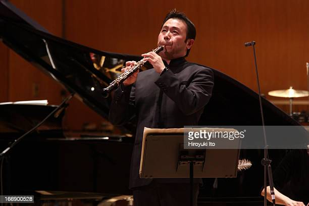 Contact The NewMusic Series of the New York Philharmonic at the Metropolitan Museum of Art on Friday night April 5 2013This imageThe oboist Liang...