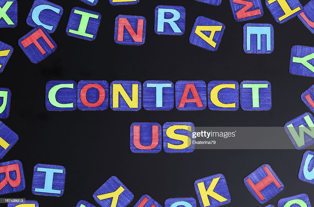 Contact us : Stock Photo
