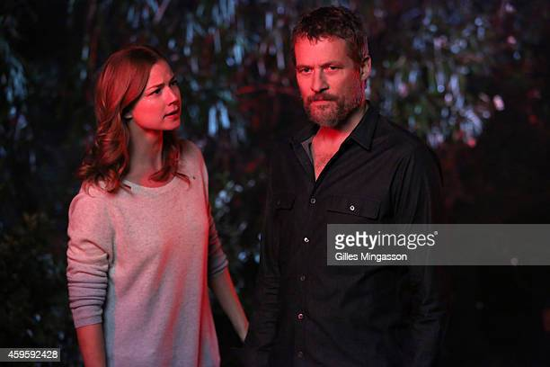 """Contact"""" - Victoria's future hangs in the balance as the FBI closes in and a mysterious new enemy strikes, on """"Revenge,"""" SUNDAY, NOVEMBER 16 , on the..."""