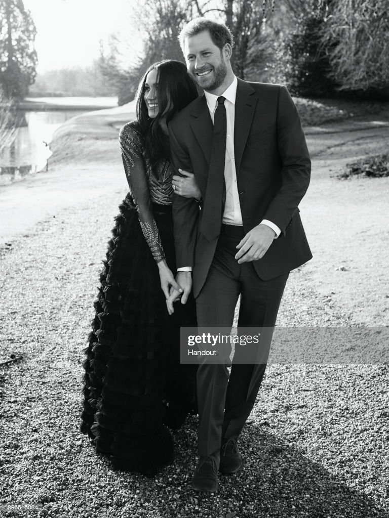 Prince Harry And Meghan Markle Engagement : News Photo