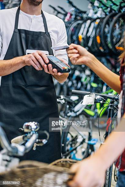 Kontaktlose Kreditkarte Zahlung