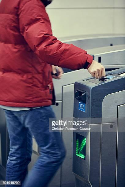 Contactless Payment in Beijing subway