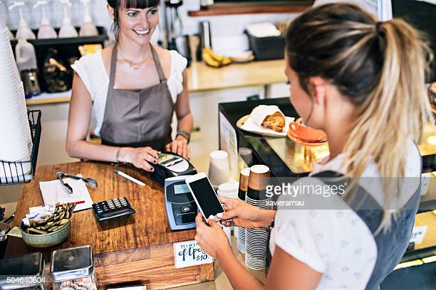 Contactless payment in der cafeteria