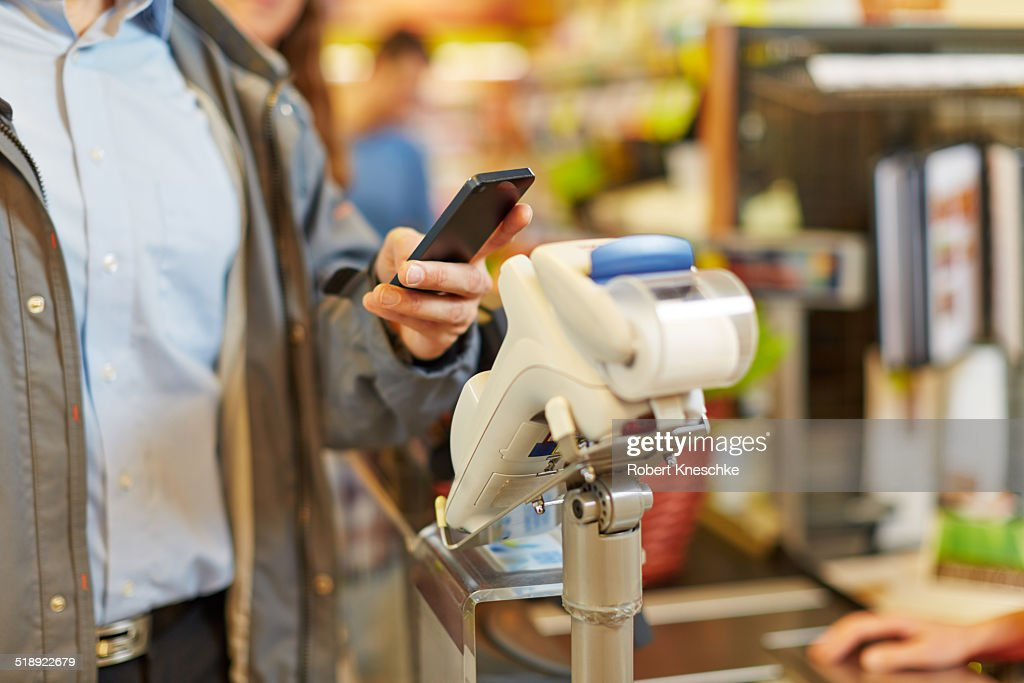 Contactless Payment : Stock Photo