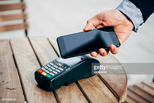 Contactless payment with smart phone