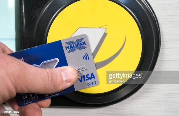 A contactless Visa Debit payment for London Underground transportation