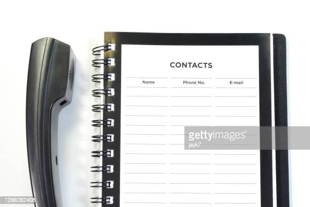 contacts - list stock pictures, royalty-free photos & images