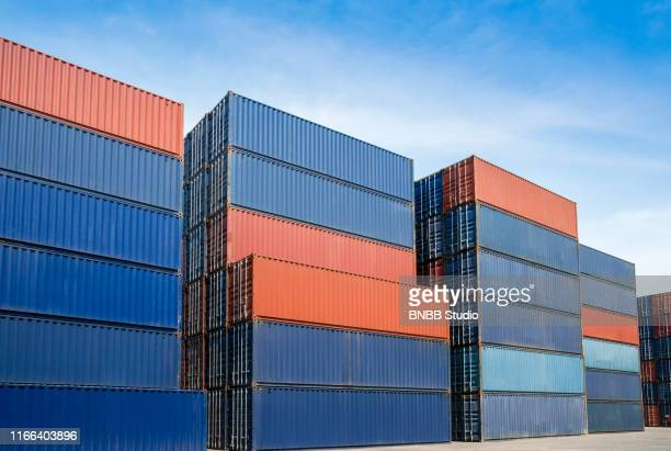 container box - container stock pictures, royalty-free photos & images