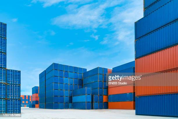container box - container stock-fotos und bilder