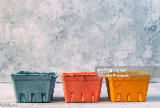 container boxes - carton stock photos and pictures