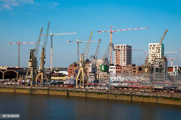 Container cranes and construction cranes