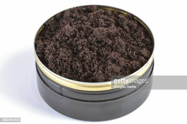 Container of loose Tobacco for oral use