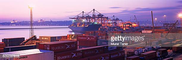 Container Port in Istanbul