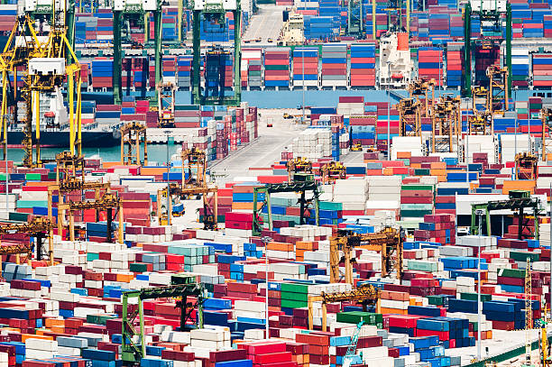 Container Port Wall Art