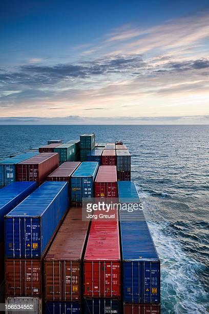 Container ship on Kattegat