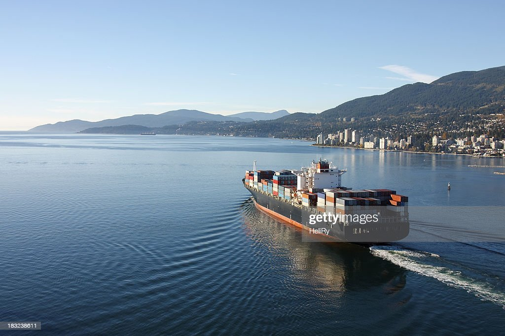 Container Ship : Stock Photo