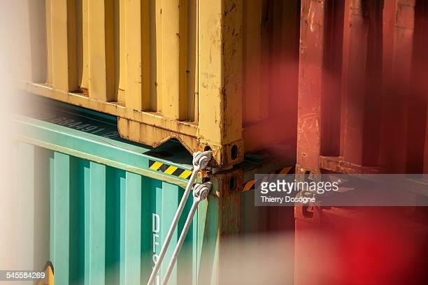 container ship - container stock pictures, royalty-free photos & images