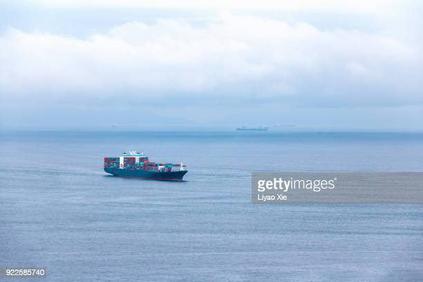 container ship - liyao xie stock pictures, royalty-free photos & images