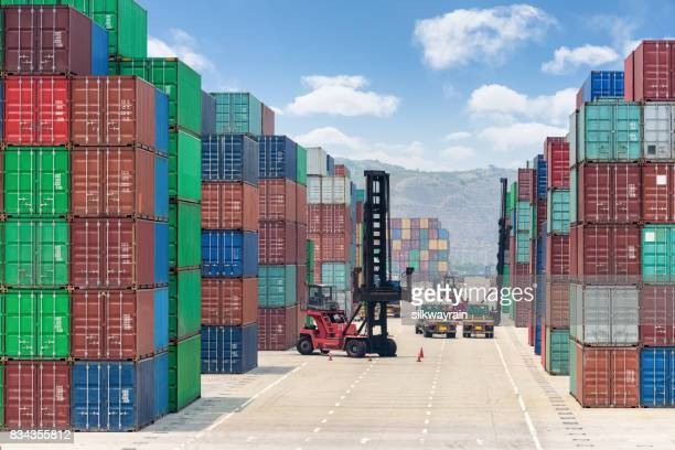 container stapel werf