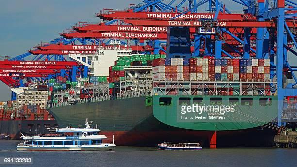 Container Terminal Burchardkai, Hamburg, Germany
