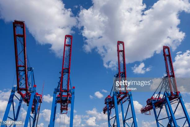 Container Terminal Burchardkai, haven van Hamburg, Duitsland