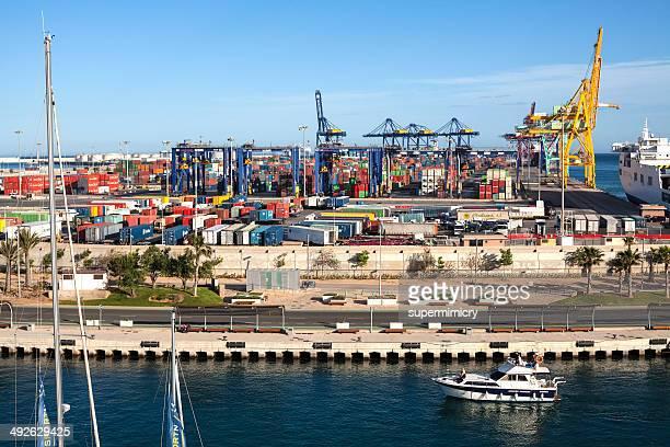 container terminal in valencia