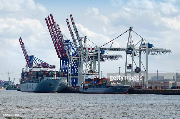 Container-terminal Tollerort Hamburg