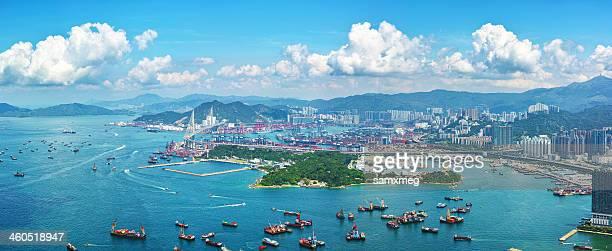 Container Terminals Kwai Tsing Hong Kong