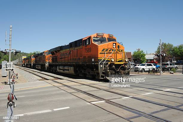 BNSF Container Train at Flagstaff