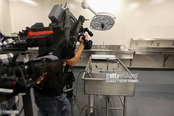 Containment level 3 morgue for autopsy of infectious disease at the new Forensic Services and Coroner's Complex How will a new stateofthe art...