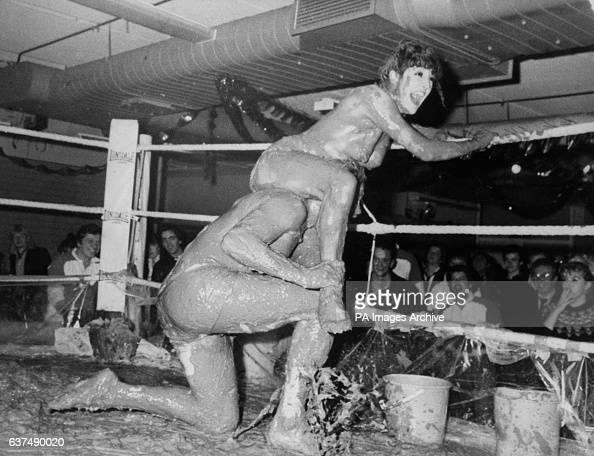 Vintage mixed pro wrestling beatdown 2 with vino - 5 8