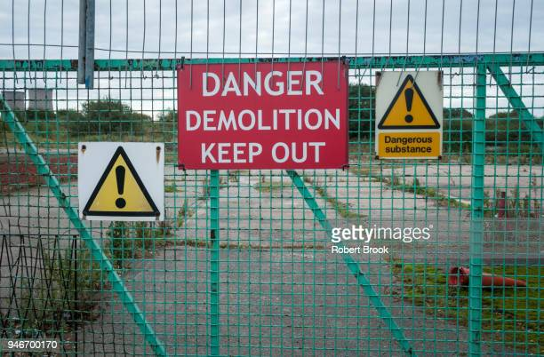 Contaminated site of former chemical works