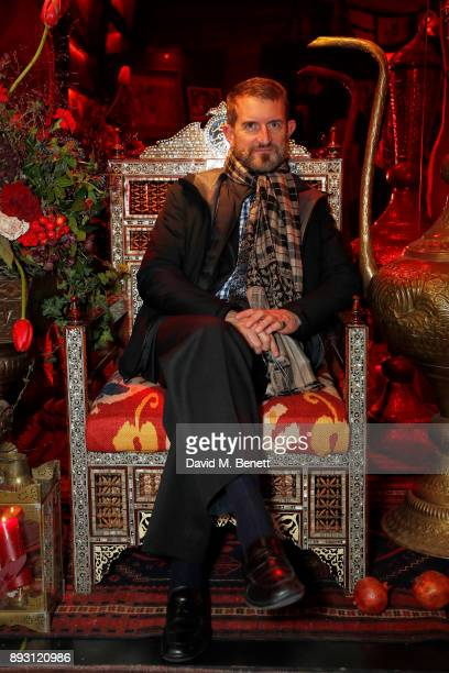 Conte Manfredi Della Gherardesca attends Bosphorus private book launch at Maison Assouline on December 14 2017 in London England