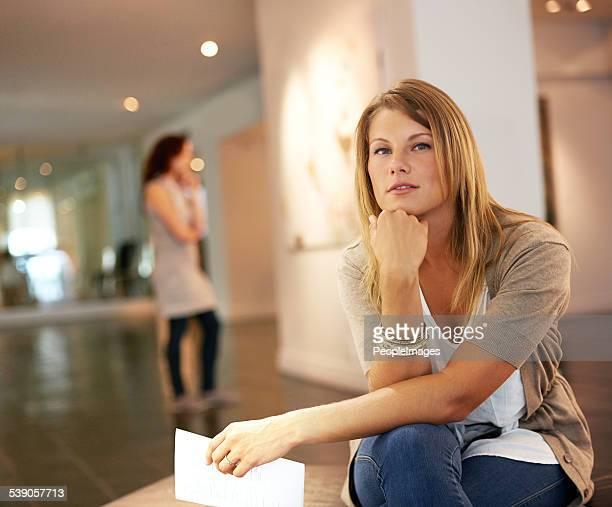 Contemplating centuries of art