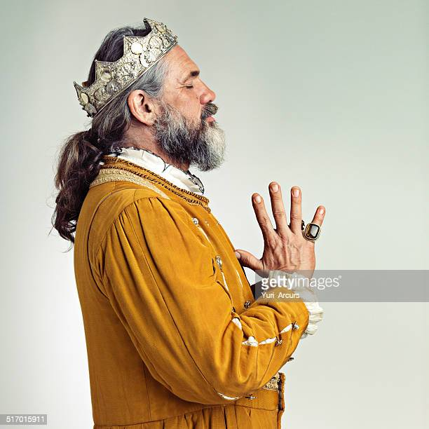 contemplating power - 17th century style stock photos and pictures