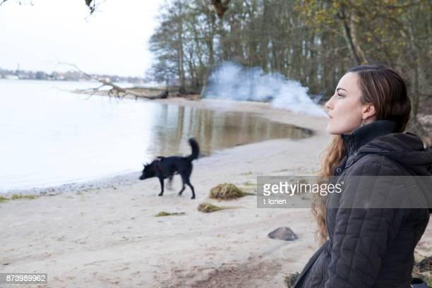 Contemplating Winter in Denmark