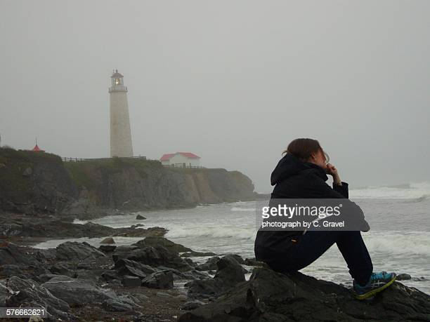 contemplation - cap des rosiers stock pictures, royalty-free photos & images