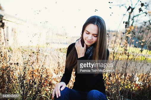 Contemplative 18 Year Old Girl Stock Photo - Getty Images-2088