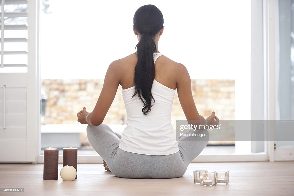 Contemplative meditation : Stock Photo