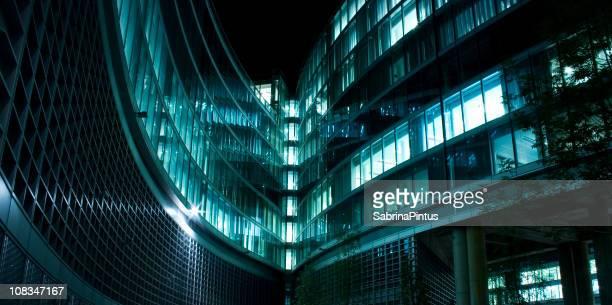 Contemporary achitecture facade
