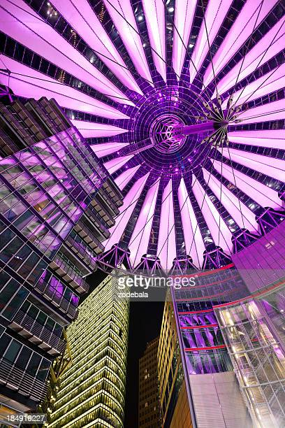 Contemporary Architecture at Sony Center in Berlin, Germany