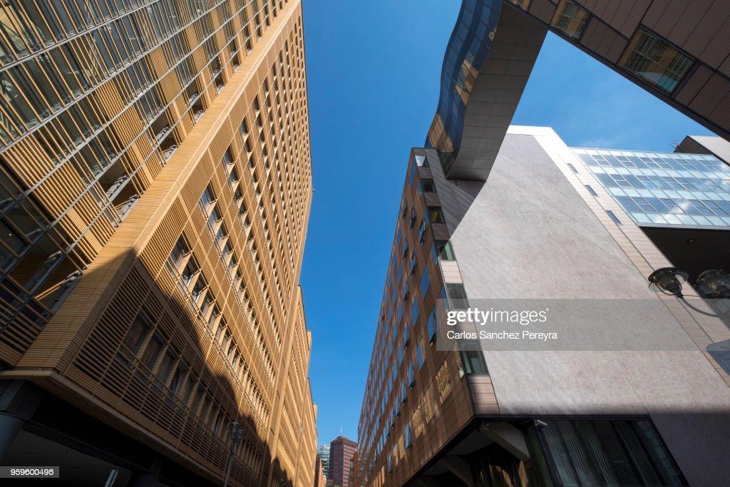 Contemporary architecture in Berlin : Stock-Foto