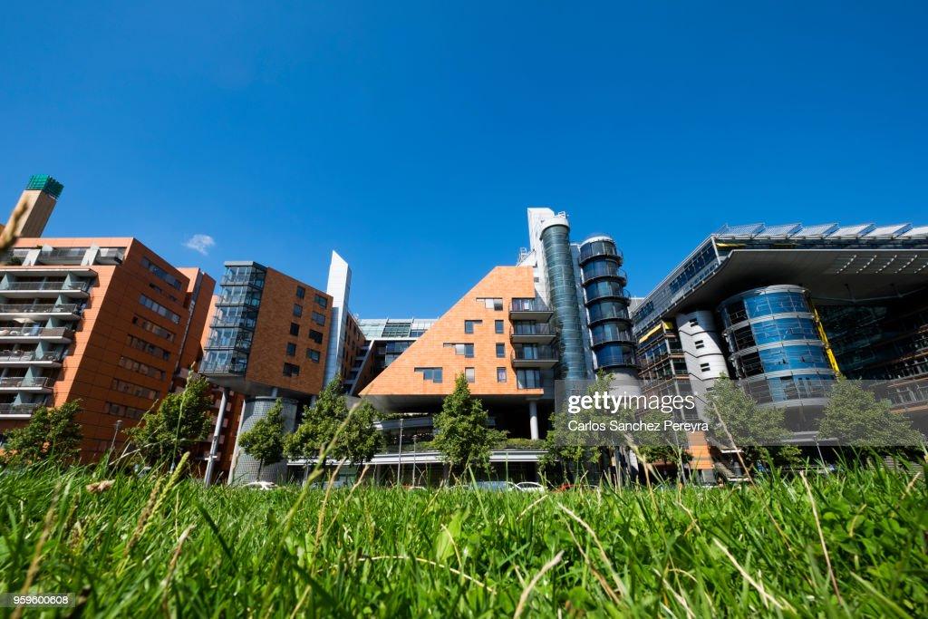 Contemporary architecture in Berlin : Stock Photo