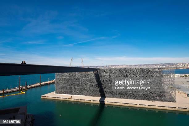 MUCEM contemporary architecture in Marseille