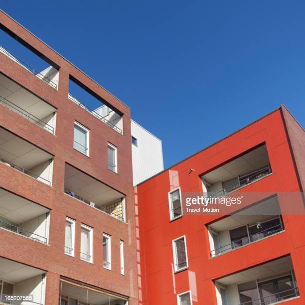 Moderne Architektur Java-eiland Amsterdam